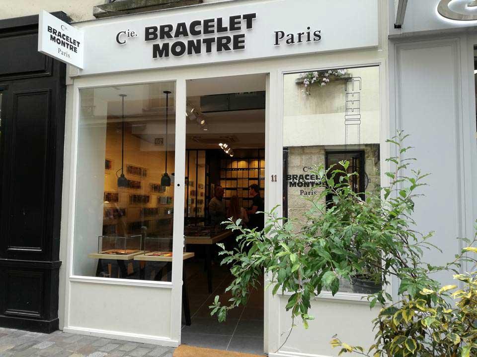 Cie du bracelet-montre rue des Rosiers