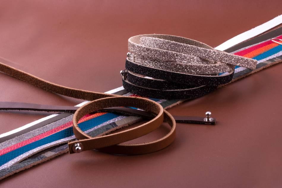 Spartiates : les nouveaux bracelets en cuir ABP