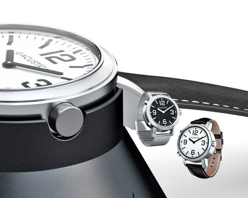 Acustica : la première montre suisse pour aveugles