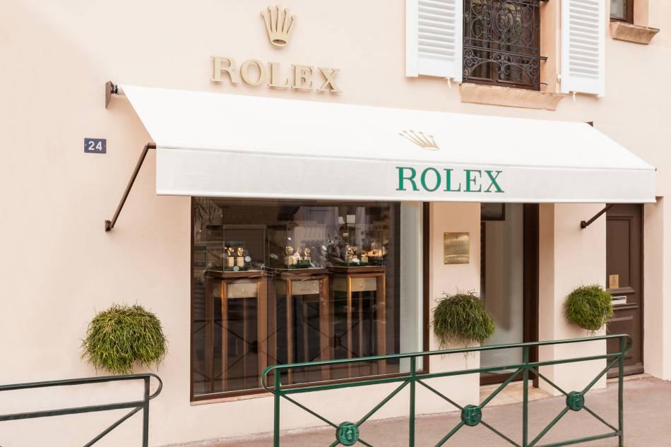Rolex ouvre une boutique exclusive à St Tropez avec Doux