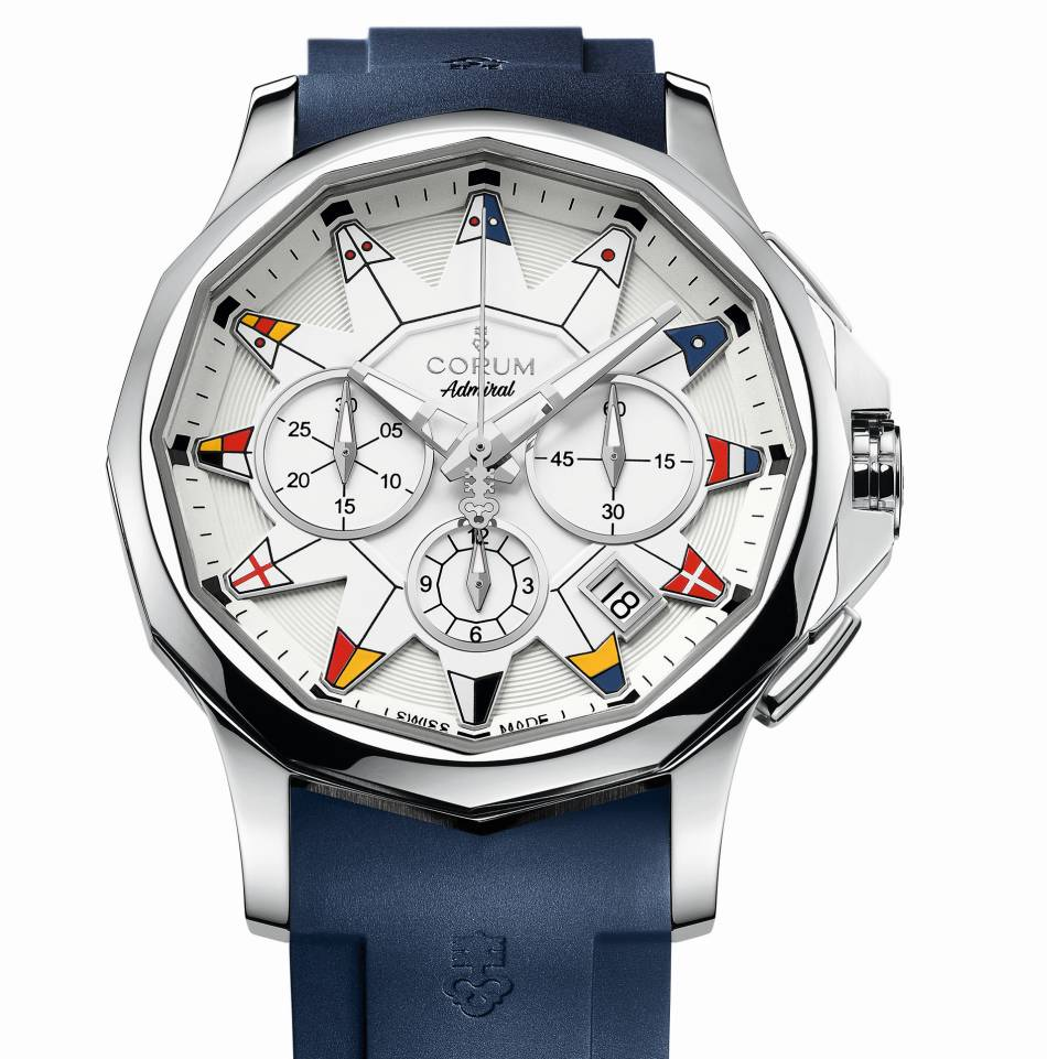 Corum Admiral's Cup Legend 42 : le chrono idéal pour l'été