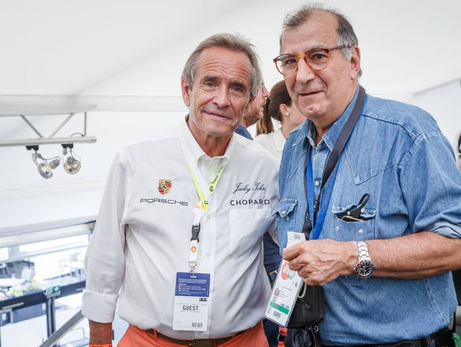 Jacky Ickx et Joel Chassaing Cuvillier