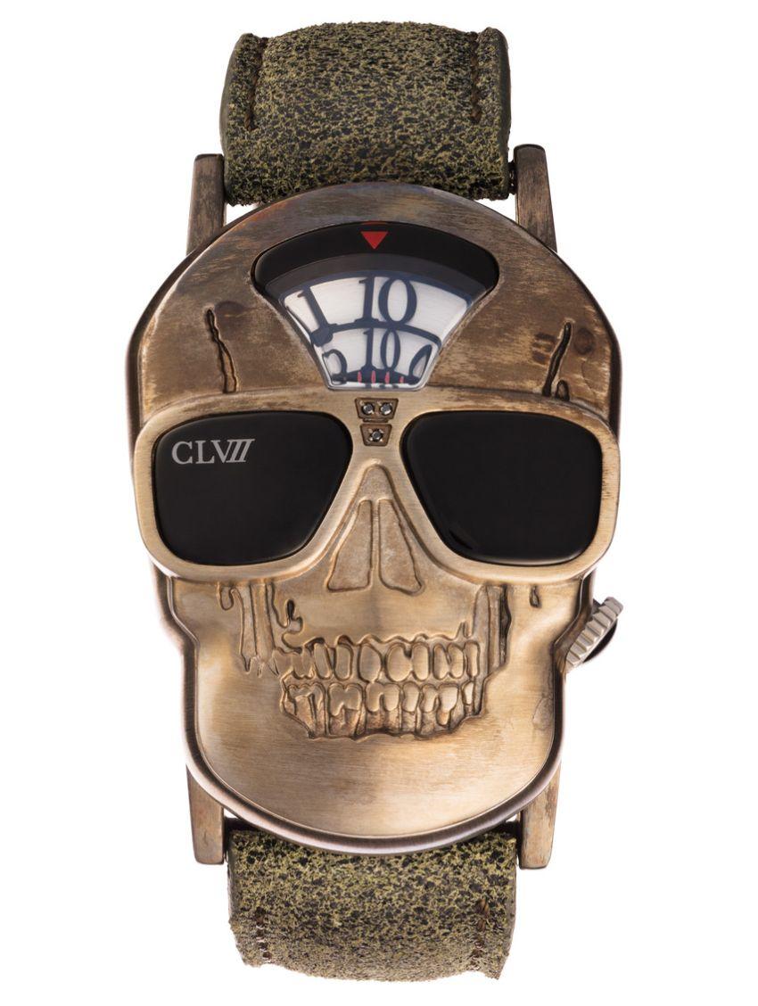 Skull CLVII Timepieces