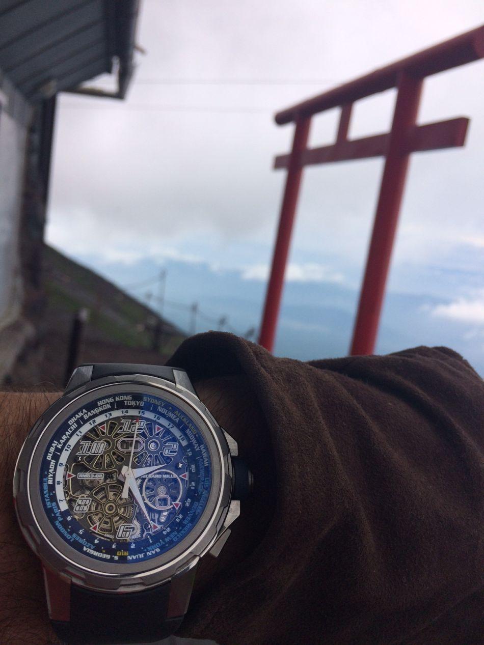 De Paris au mont Fuji, le voyage d'une RM 63-02 (partie 3)