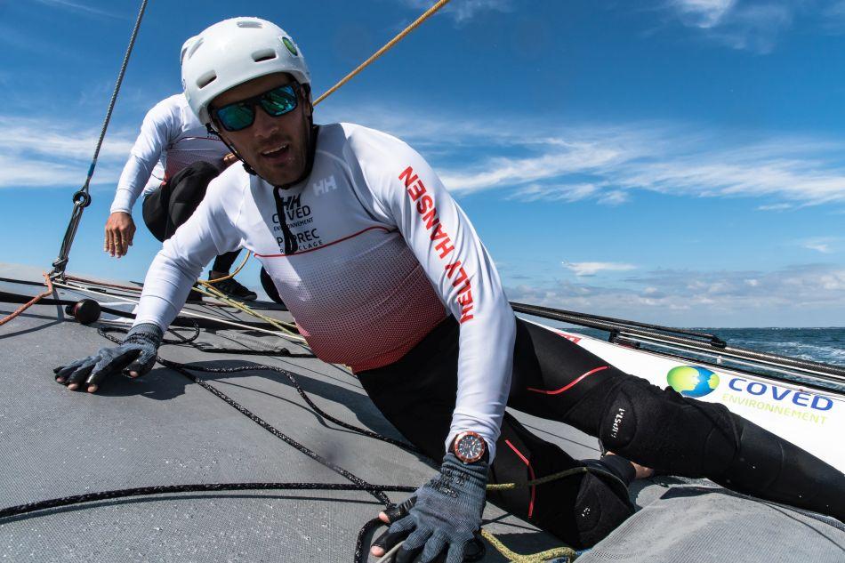 Alpina : sponsor horloger de l'équipage COVED-PAPREC pour le Tour de France à la voile
