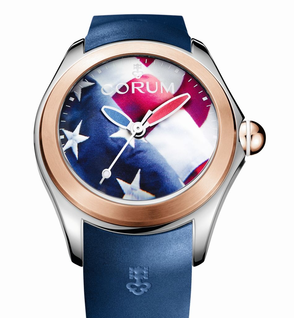 Corum Big Bubble America First : pour amis ricains !