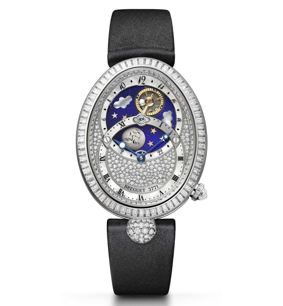 Expo de montres Breguet pour femmes chez Bucherer