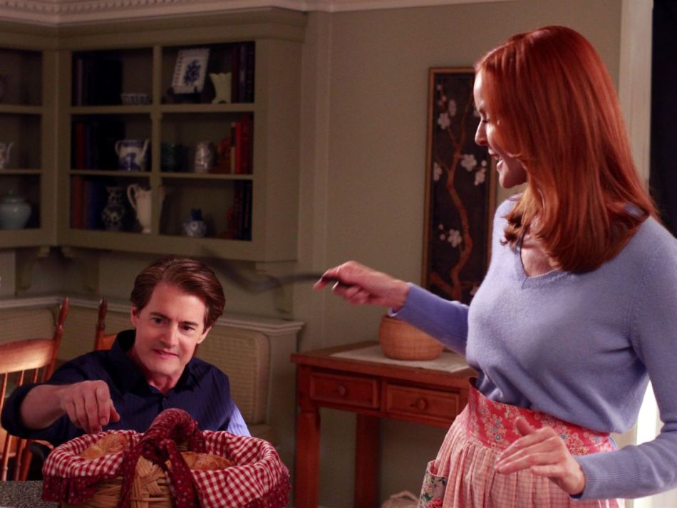 Desperate Housewives : Kyle MacLachlan porte une Rolex Datejust en acier