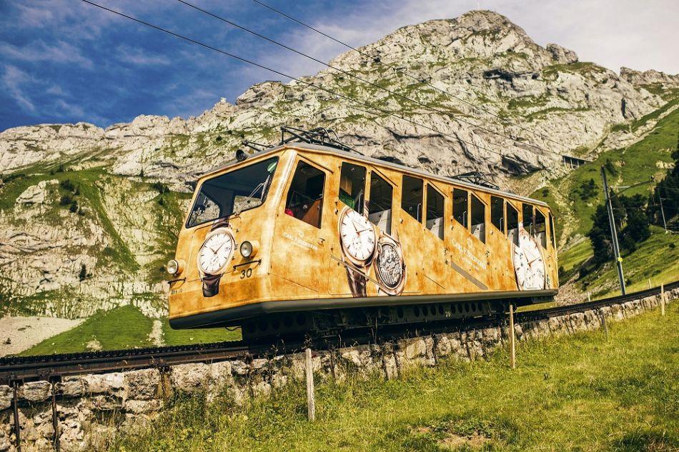 Carl F. Bucherer partenaire du chemin de fer du Pilate de Lucerne