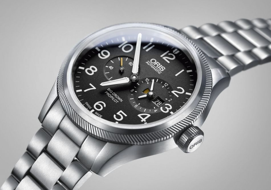 Oris Big Crown ProPilot Worldtimer : un GMT réglable à la lunette