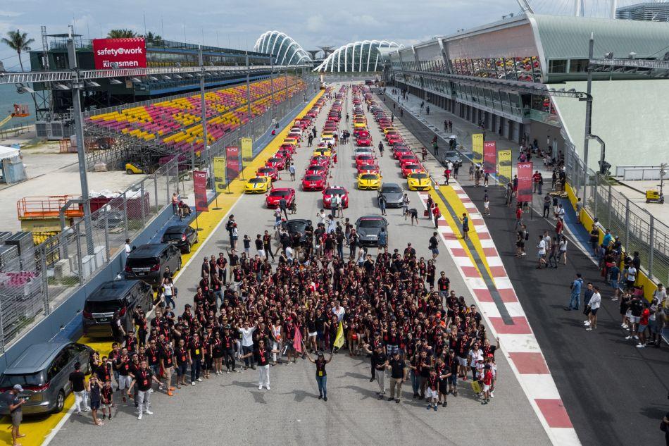 Singapour : Hublot célèbre les 70 ans de Ferrari
