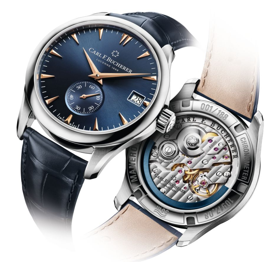 Carl F. Bucherer Manero Peripheral Boutique Edition : 188 exemplaires
