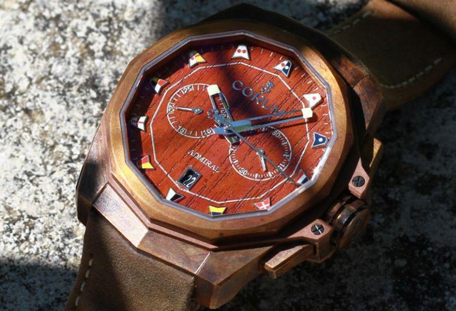 Corum Admiral AC-One 45 Chronograph : chacun son bronze