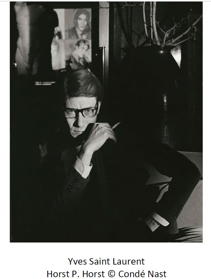 Yves Saint-Laurent et sa Tank de Cartier