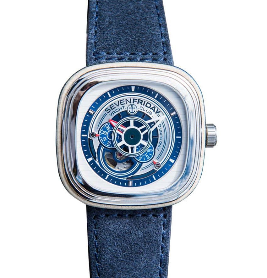 P3-06 Yacht Club : SevenFriday prend la mer