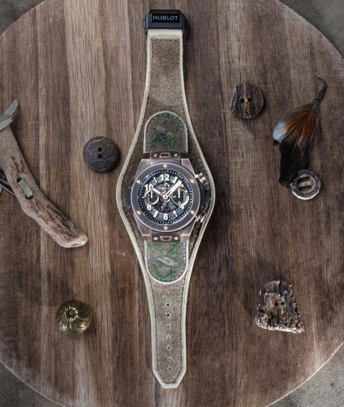 Hublot : du bronze et du cuir pour la Big Bang Bavaria