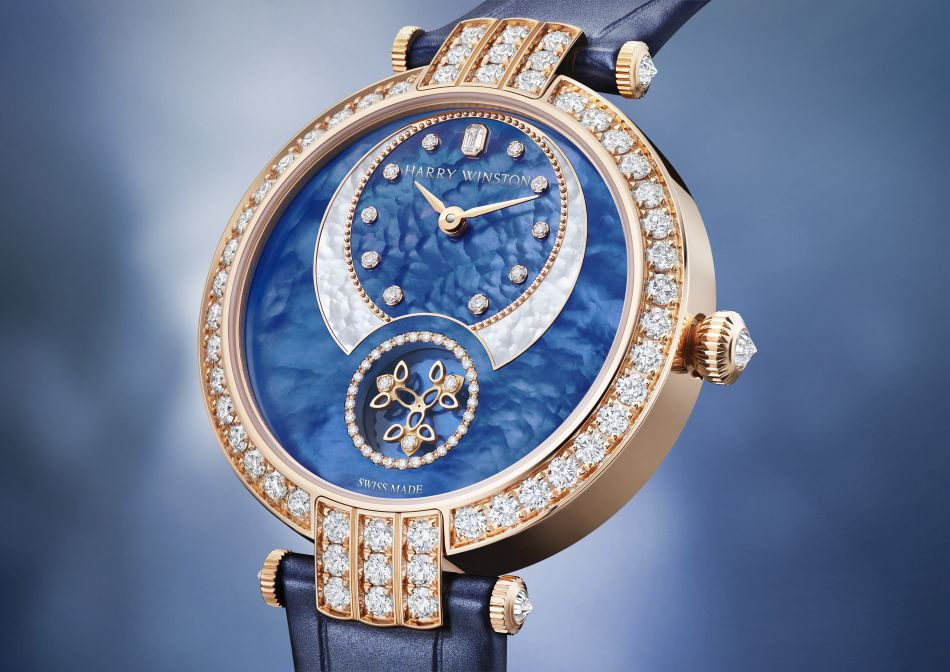 Harry Winston Premier Diamond Second Automatic 36 mm