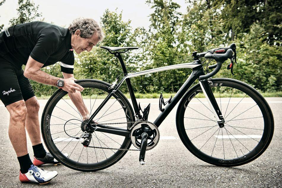 RM 70-01 Tourbillon Alain Prost : avec un compteur kilométrique inédit