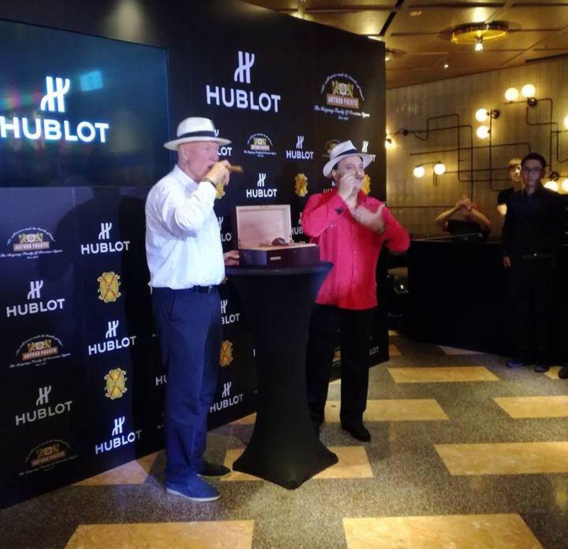 Lancement à Hongkong de la Hublot Classic Fusion Fuente Edition limitée