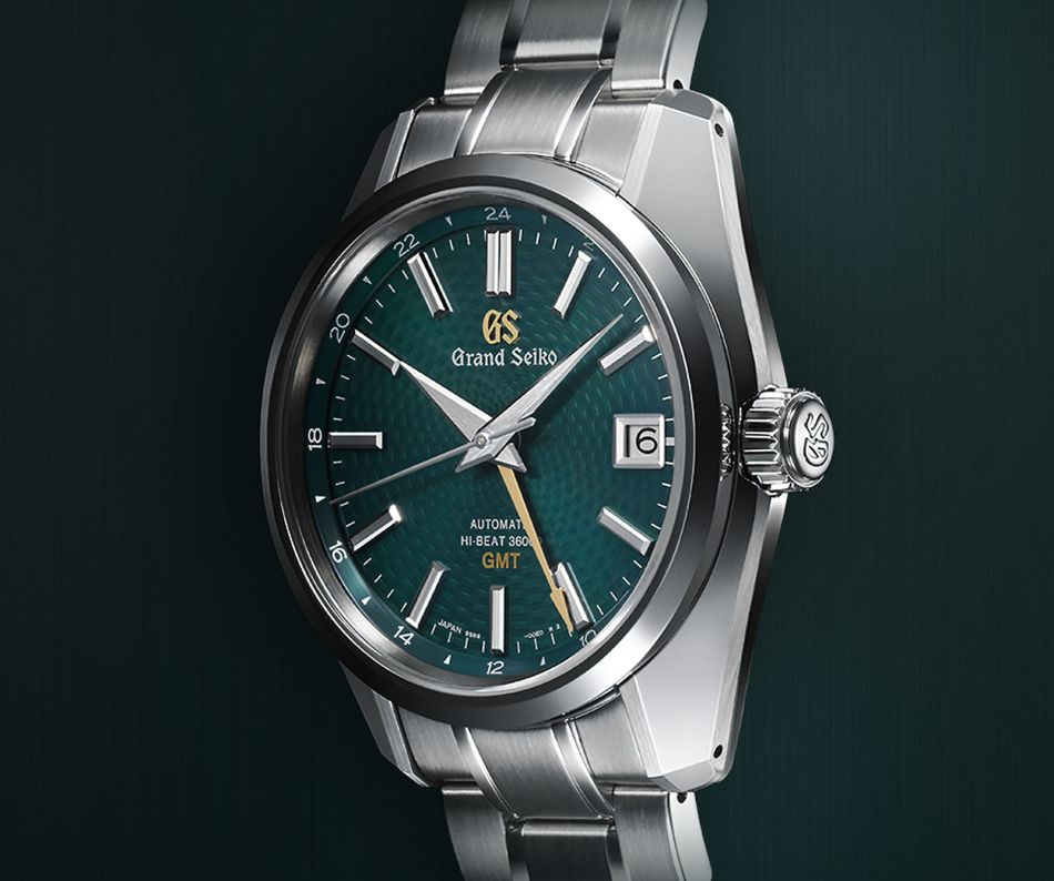 Grand Seiko Hi-Beat 36000 GMT Peacock