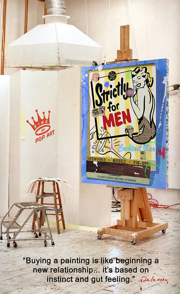 Corum : une collab' très Pop Art avec Nelson de la Nuez