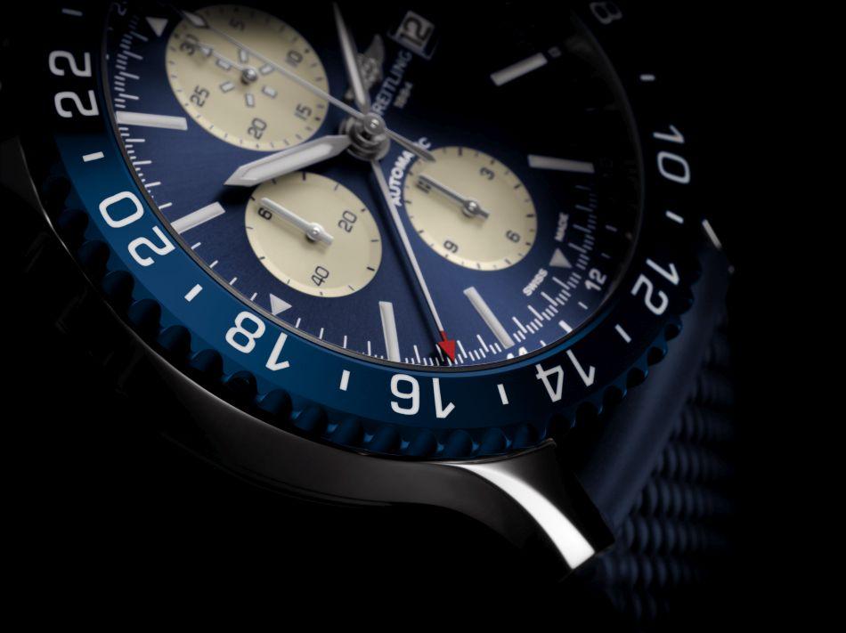 Breitling : deux nouvelles Chronoliner en versions bleue et bronze