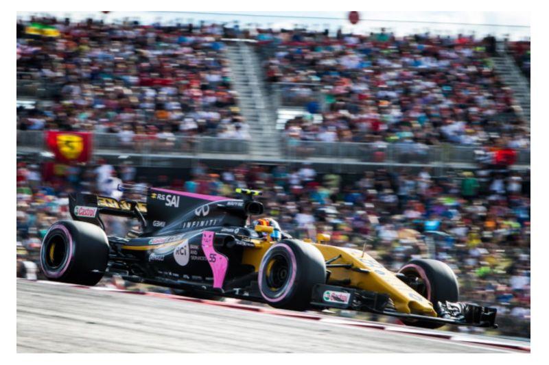 Bell & Ross en rose pour le GP d'Austin pour lutter contre le cancer du sein