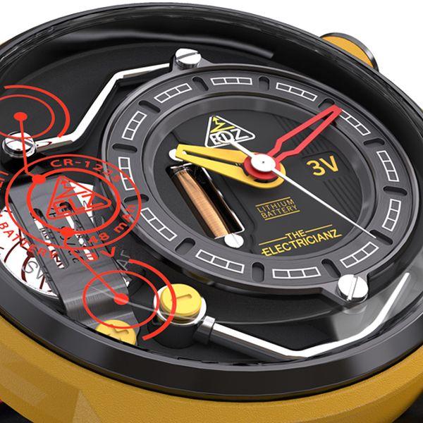 The Electricianz : une montre qui va électriser le marché
