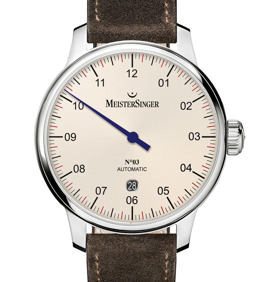 MeisterSinger N°3 - 40 mm : plus petite et plus chic