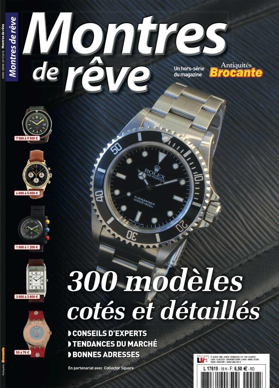 En kiosque : 300 montres de rêve à collectionner