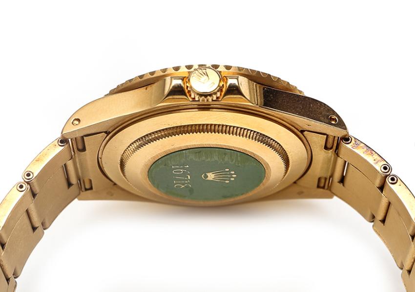 Rolex GMT or jaune 16718 : une rareté neuve de stock chez Old-time-heure.com