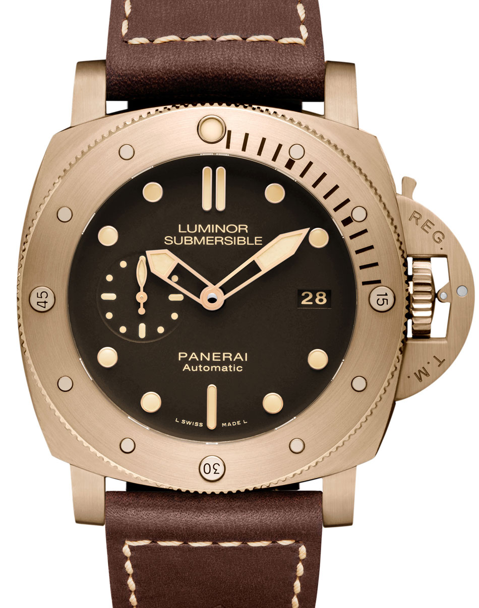Panerai Submersible Bronzo London Pam 907