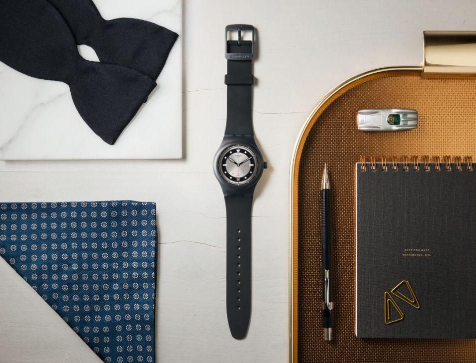 "Swatch : série limitée ""vintage"" Sistem 51 avec Hodinkee"