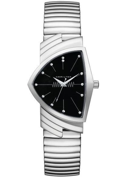 Hamilton Ventura Flex : bracelet fifties ultra-souple