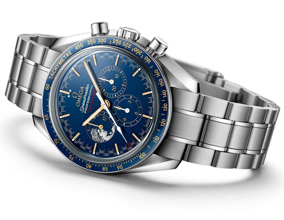 Omega Speedmaster Apollo 17 Gene Cernan : il a marché sur la Lune... en dernier