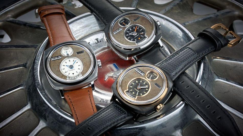 REC P-51 : des montres réalisées à partir d'anciennes Ford Mustang