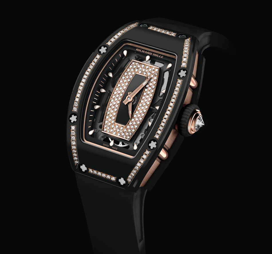 Richard Mille RM 07-01 Céramique noire sertie