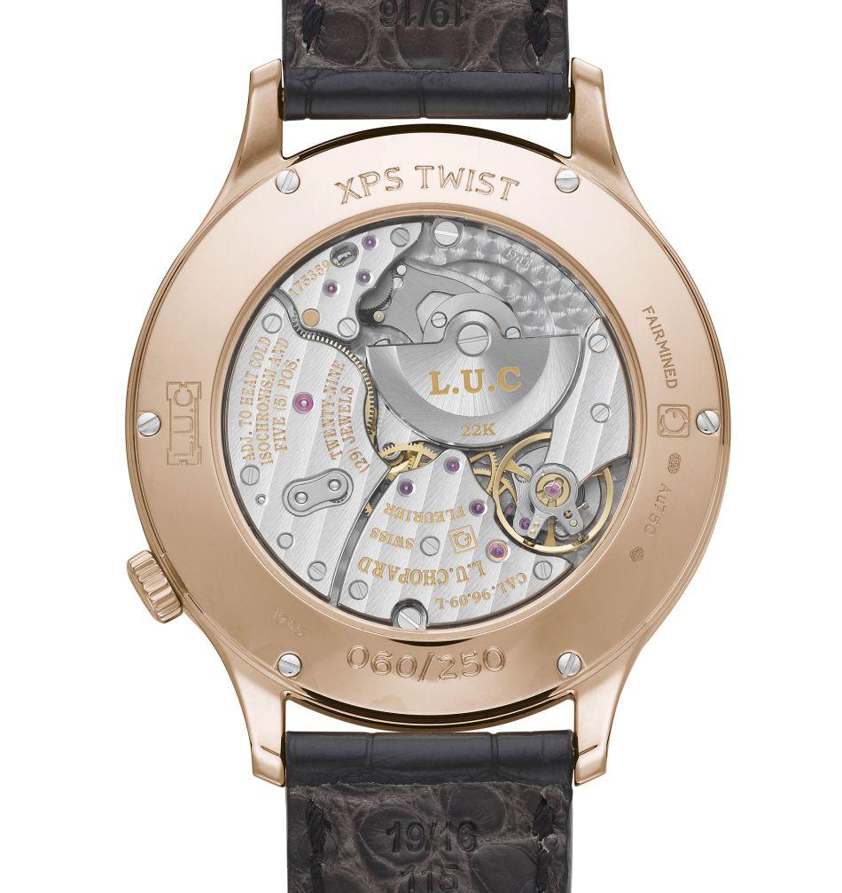 Chopard L.U.C. XPS Twist QF Fairmined : luxe équitable