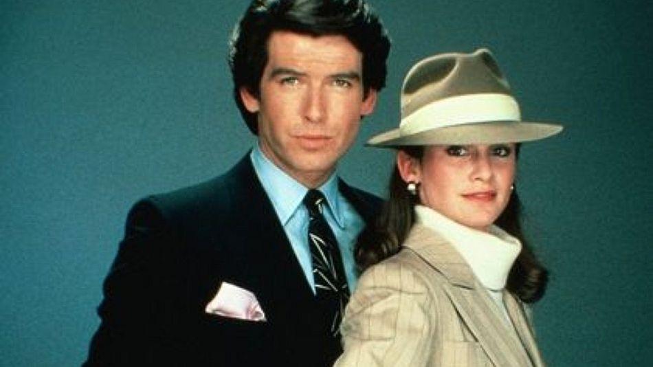 Remington Steele : Pierce Brosnan porte une Rolex Cellini