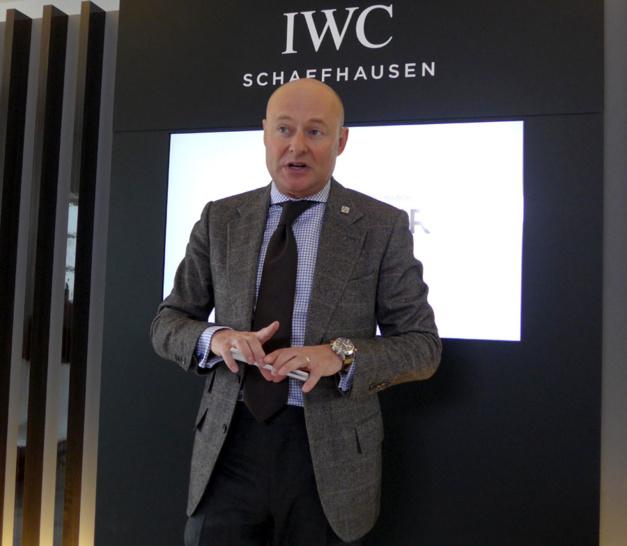 IWC : 150 d'histoire et quatre grands patrons