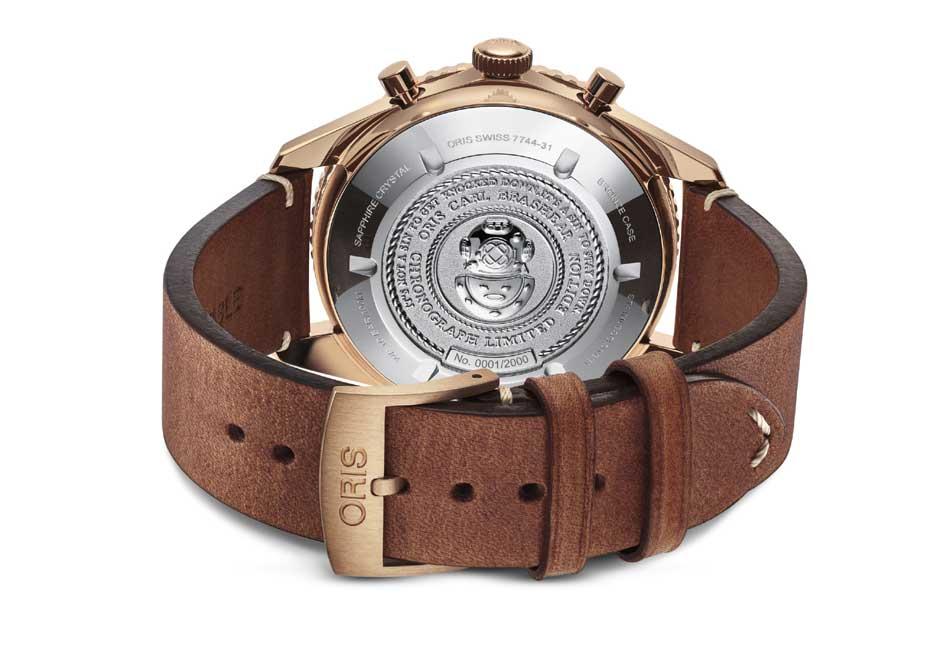 Oris : un chrono en bronze en l'honneur de Carl Brashear