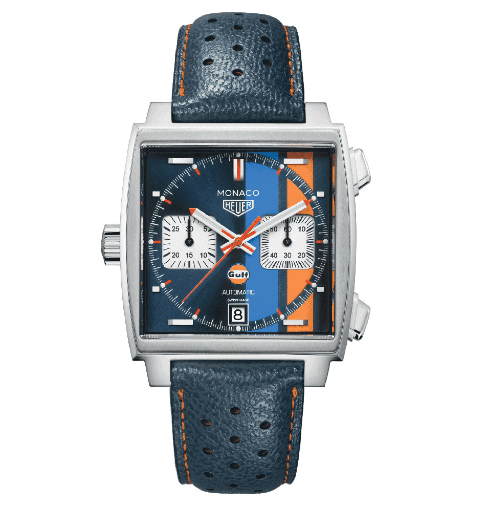 TAG Heuer Monaco Gulf Racing : retour d'une icone