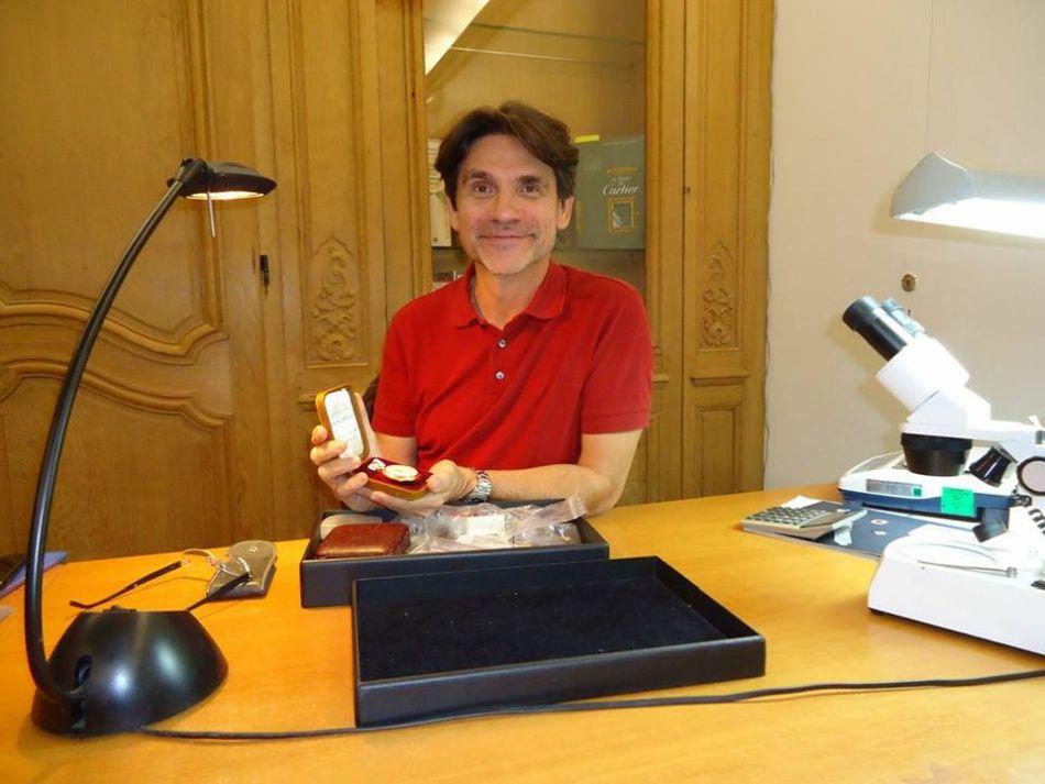 Alexis Francis-Boeuf : expert horloger auprès de la maison Millon