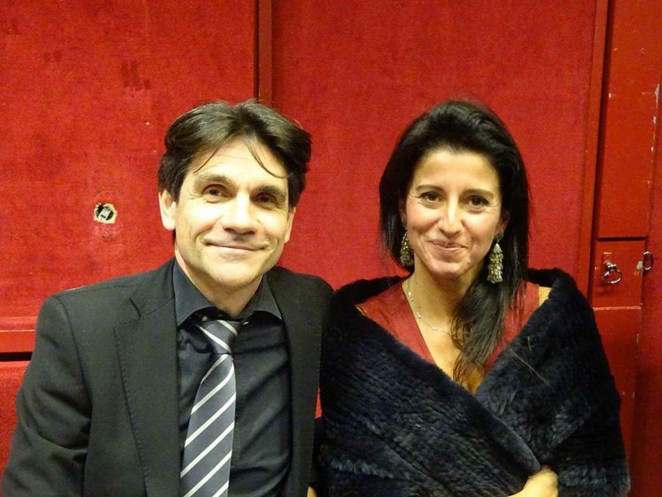 Alexis Francis-Boeuf et Charlotte Wannebroucq