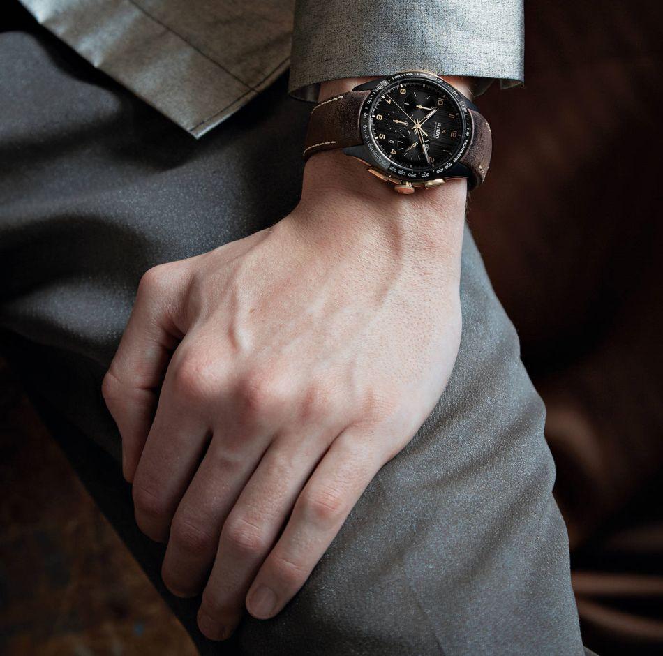 Rado Hyperchrome Chronograph : belle alliance de céramique et de bronze