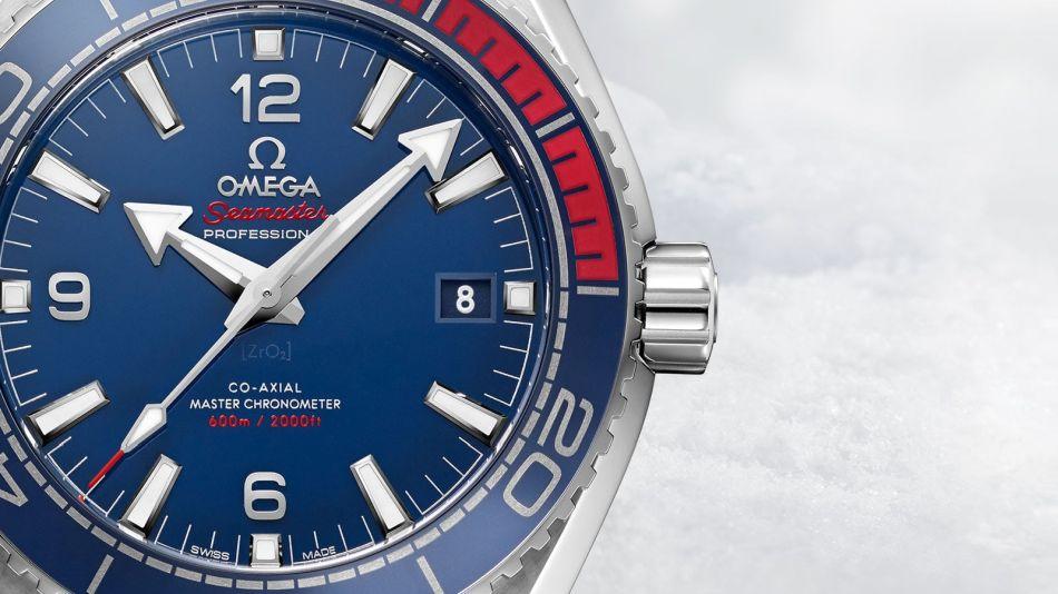 Omega Seamaster Planet Ocean 600 m PyeongChang 2018