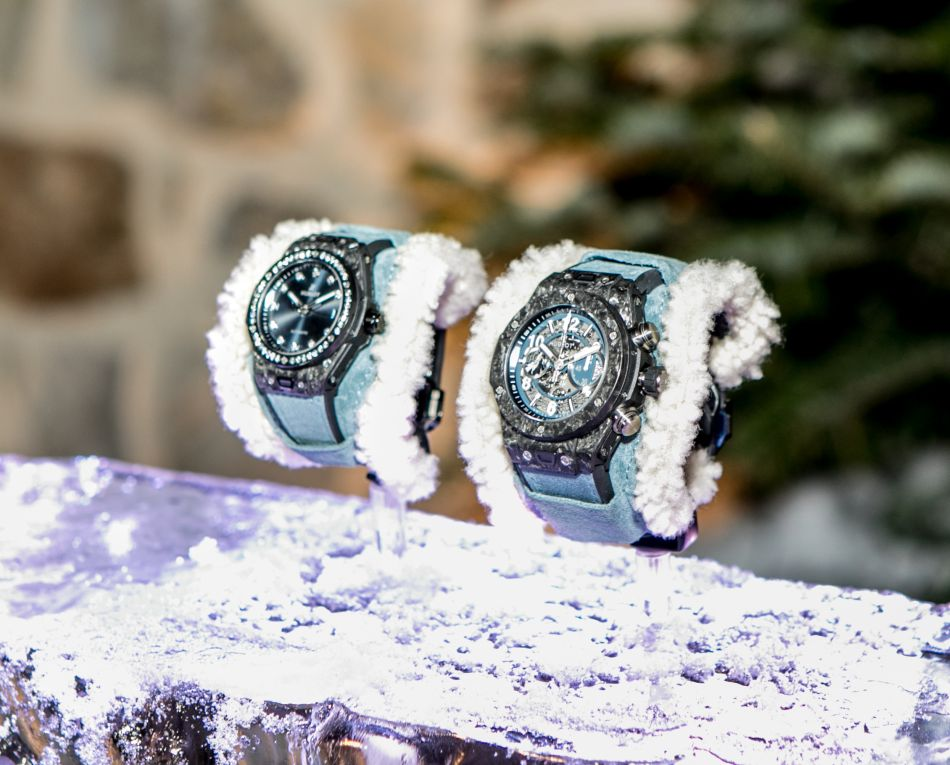 Hublot Big Bang Alps : un mouton (retourné) au poignet