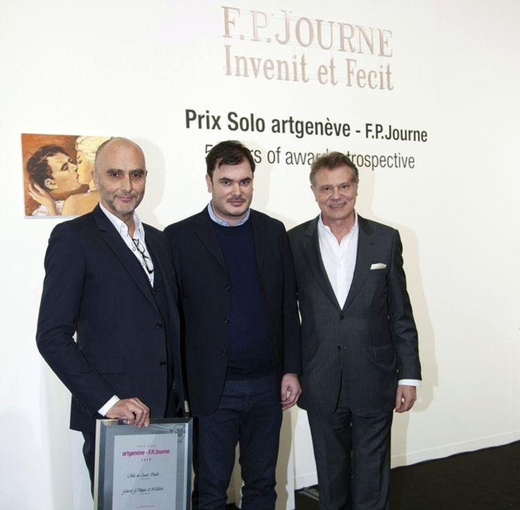 FP Journe : remise du Prix Solo ArtGenève 2018
