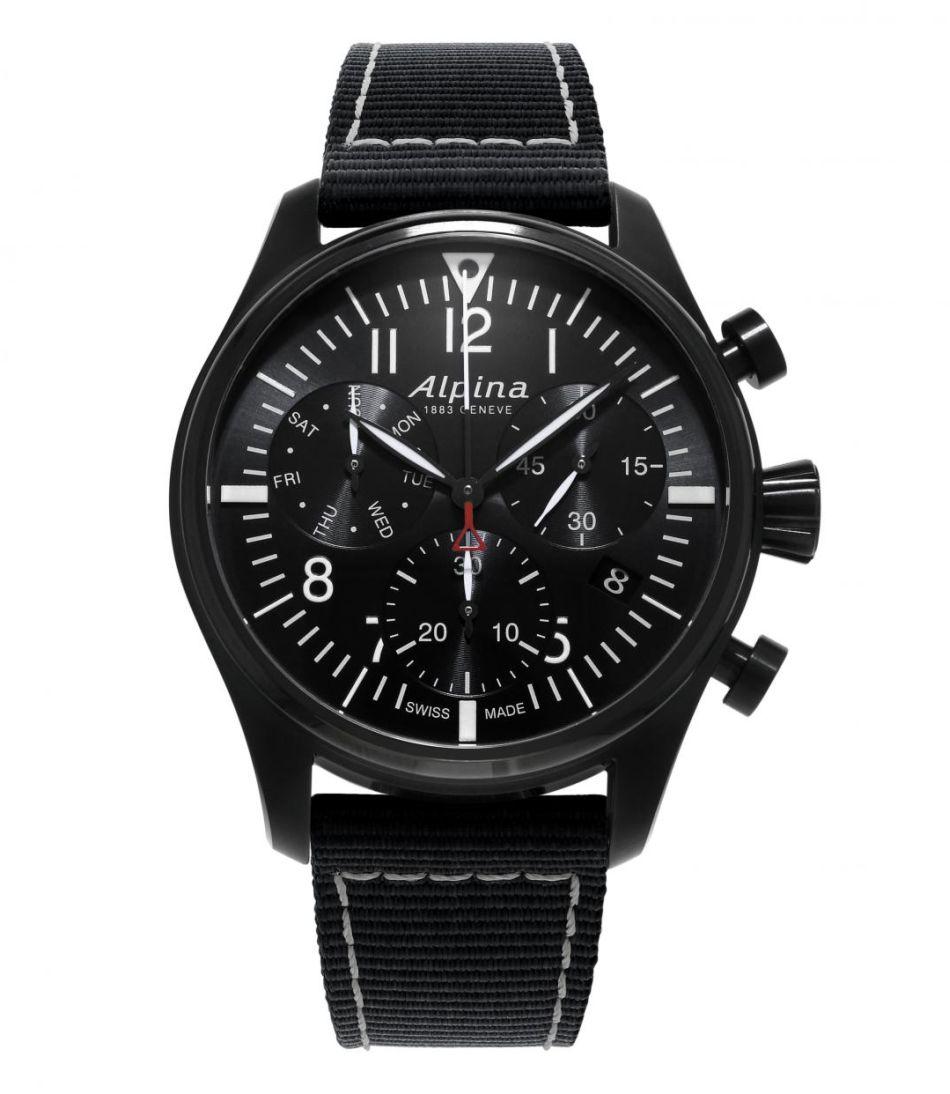 Alpina Startimer Pilot Chronographe : atterrissage en 42 mm