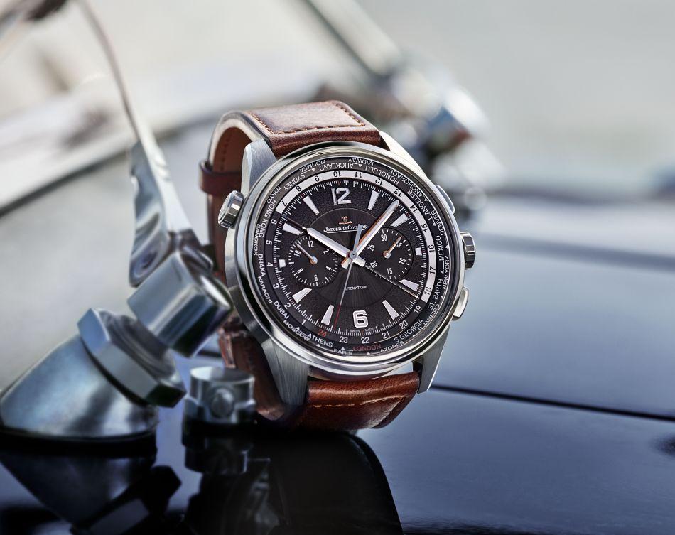 Jaeger-LeCoultre Polaris Chrono WT : une montre de grand voyageur